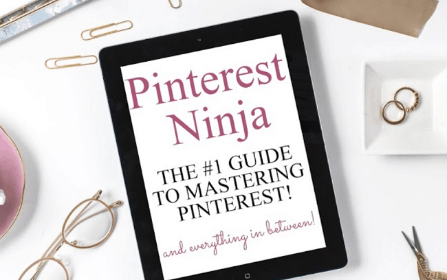 Pinterest Ninja, Pinterest Course for Bloggers