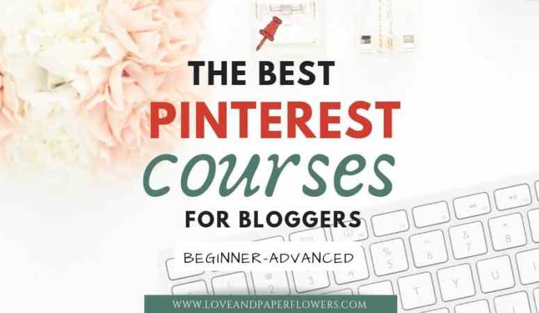 The Best Pinterest Courses for Bloggers in 2020 (Beginner-Advanced)