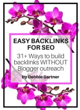 Easy Backlink SEO ebook for bloggers