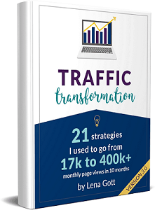Traffic Transformation Guide, best SEO courses for bloggers