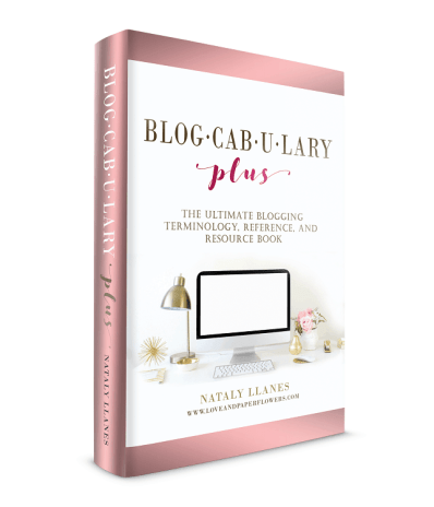 Blogcabulary Plus, Blogging Vocabulary eBook