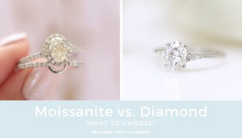 A Match Made in Heaven: Rose Gold Moissanite Engagement