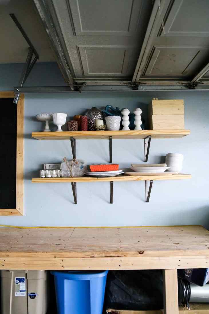 garage wall organization