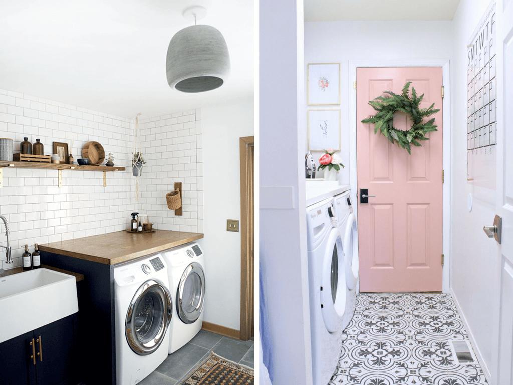 12 Inspiring Small Laundry Room Ideas - Love & Renovations on Small Laundry Ideas  id=78478