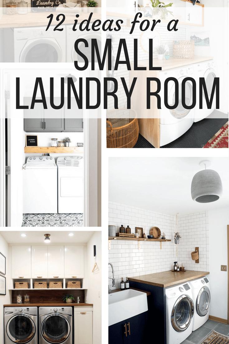 Laundry Room Ideas - 12 Ideas for Small Laundry Rooms on Laundry Room Organization Ideas  id=16110
