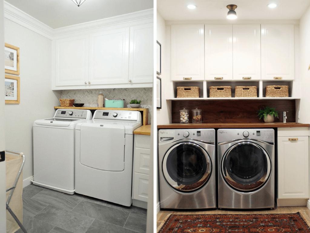 12 Inspiring Small Laundry Room Ideas - Love & Renovations on Laundry Decorating Ideas  id=62894