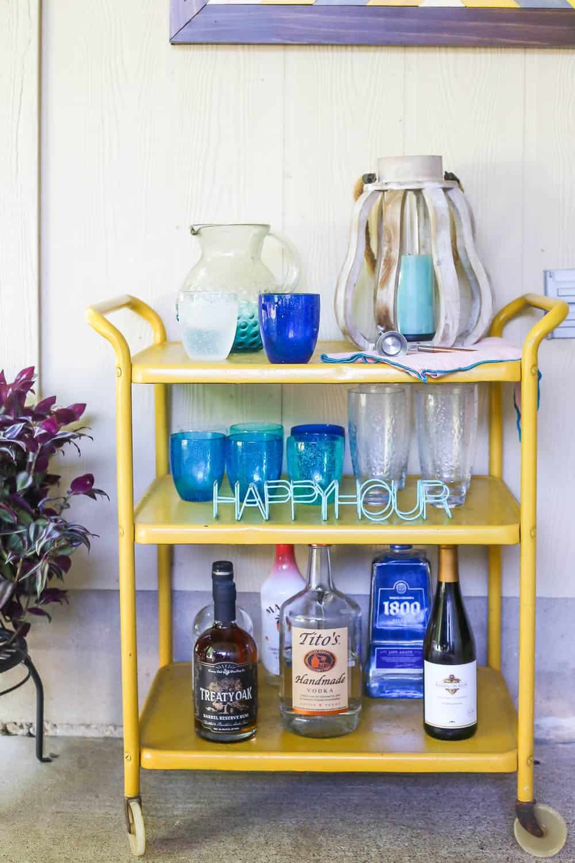 backyard bar cart ideas 5 ways to