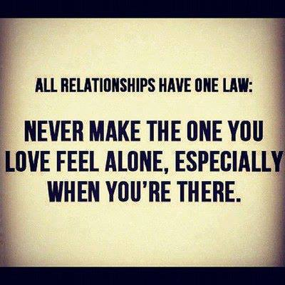 All Relationships Have One Law
