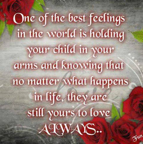 Once Of The Best Feelings In The World Is Holding ...
