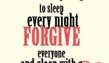 Sleep With Clean heart