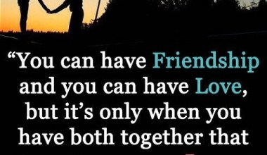 You Can Have Friendship