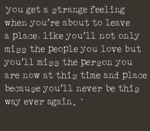 You get Strange Feeling