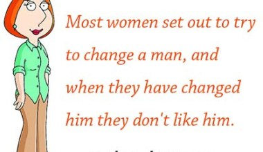 Most Women Set Out To Try To change A man