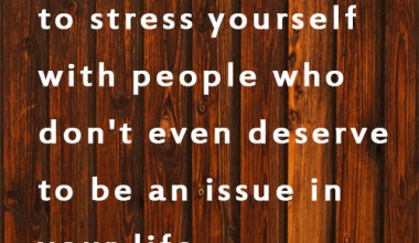Issue In Your Life