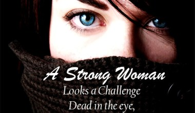 A Strong Woman Looks A Challenge