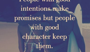 People With Good Intentions