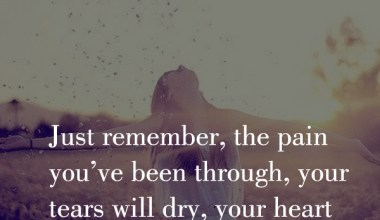 Your Tears Will Dry