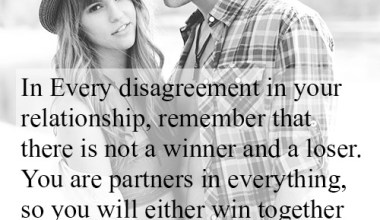 In Every Disagreement In your Relationship