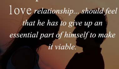 No Partner In A Love Relationship ...