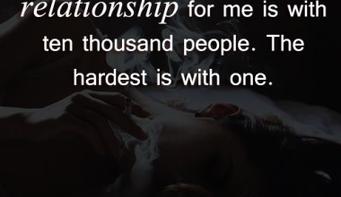 The Easiest Kind Of Relationship