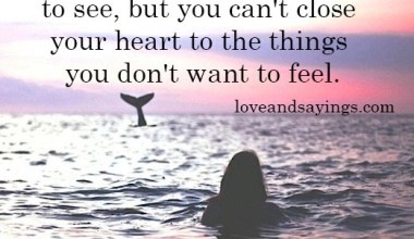 The Things You Don't Want to Feel