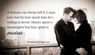 Time spent is priceless.