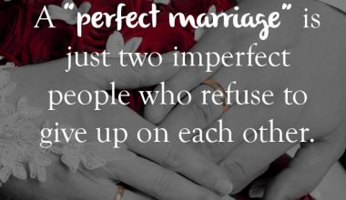 A Perfect Marriage Is