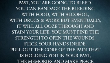 Heal the wounds of your past