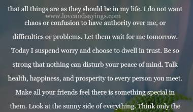 My Prayer Today