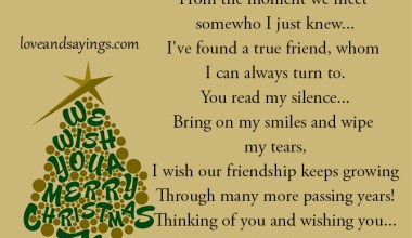 Thinking Of you And Wishing You..