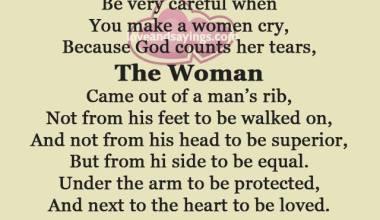 Never Hurt A Woman