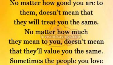 No matter how good you are