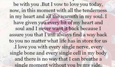 I Can't promise you a forever