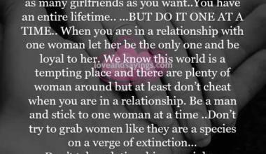 Don't take relationship as a joke
