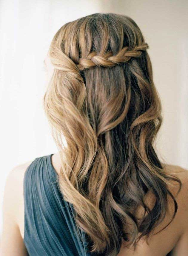 Easy Prom Hairstyle for Long Hair