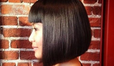 Classy precision-cut medium hairstyles
