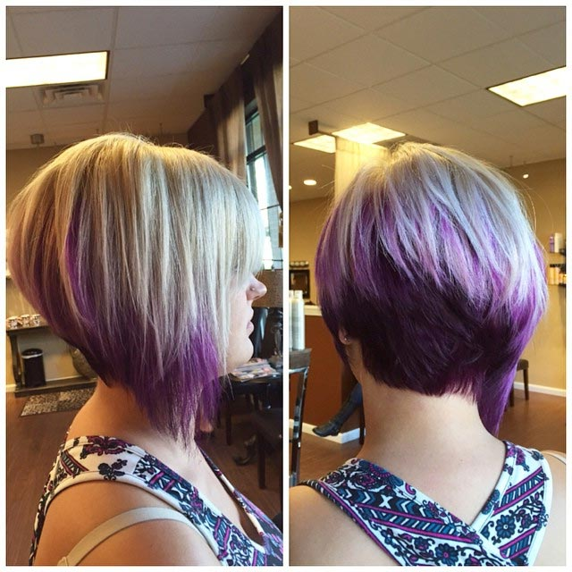Crazy Colors Crazy Layers Short Hairstyle Ideas