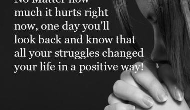 Your struggles changed your life