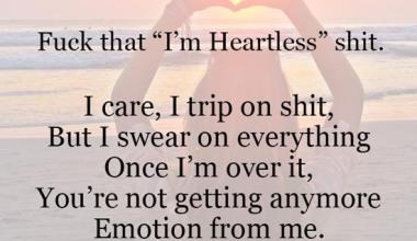 I'm Heartless