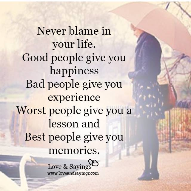 Bad people give you experience