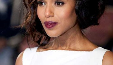 Asymmetrical bob hairstyle for black ladies