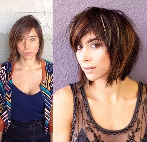 Chin-Length Hair With Layers