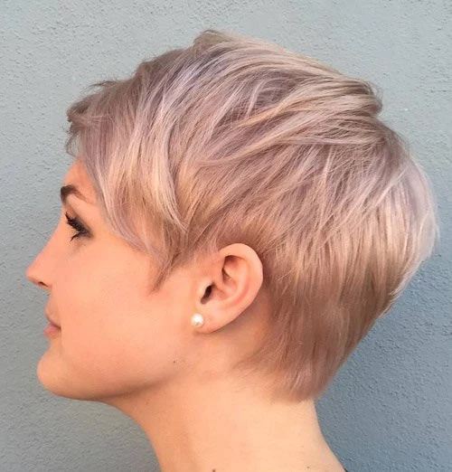 Rose Gold Pixie