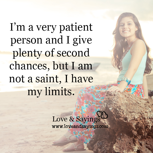 Very patient person
