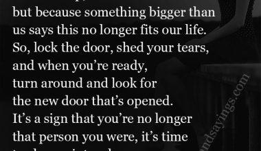 When Something Bigger Than Us Awaits Us