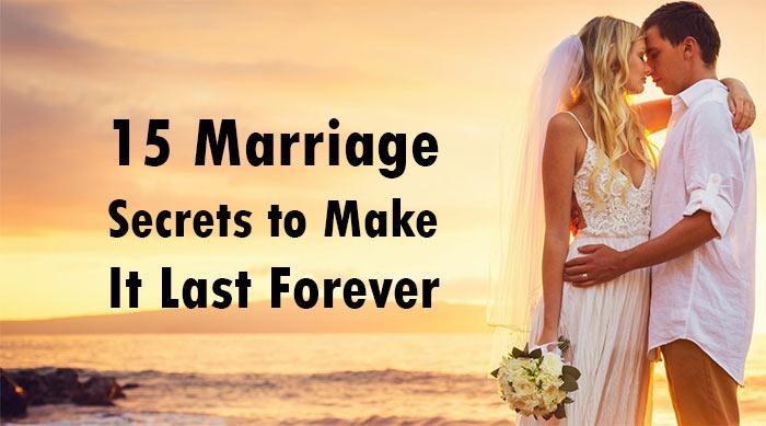 Marriage secrets