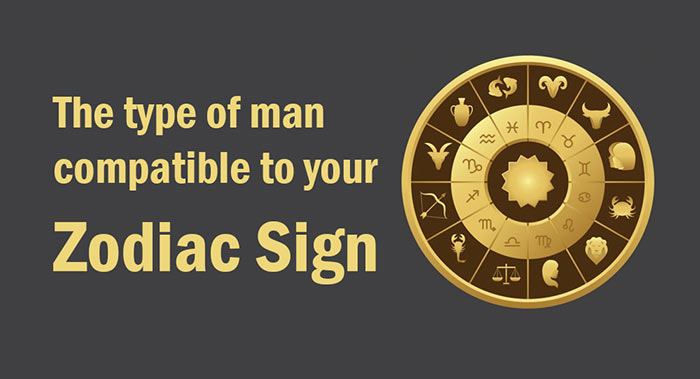 man compatible to your Zodiac Sign