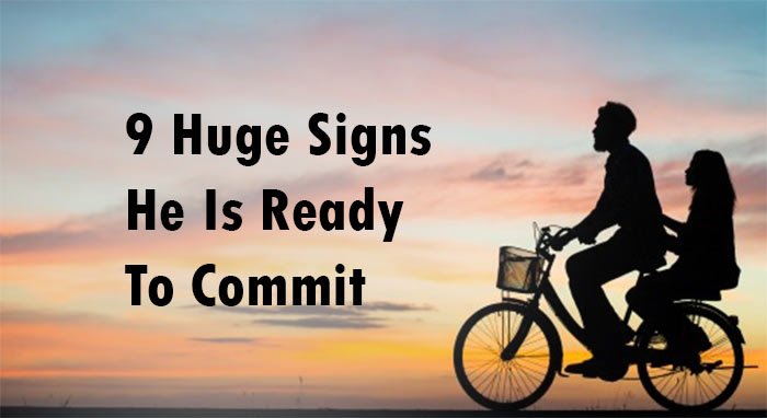 ready to commit