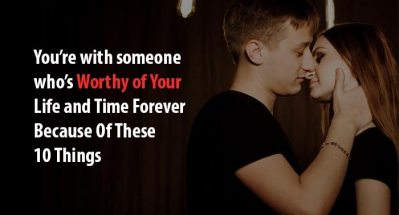 worthy of your life