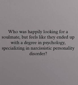 Who was happily looking for a soulmate